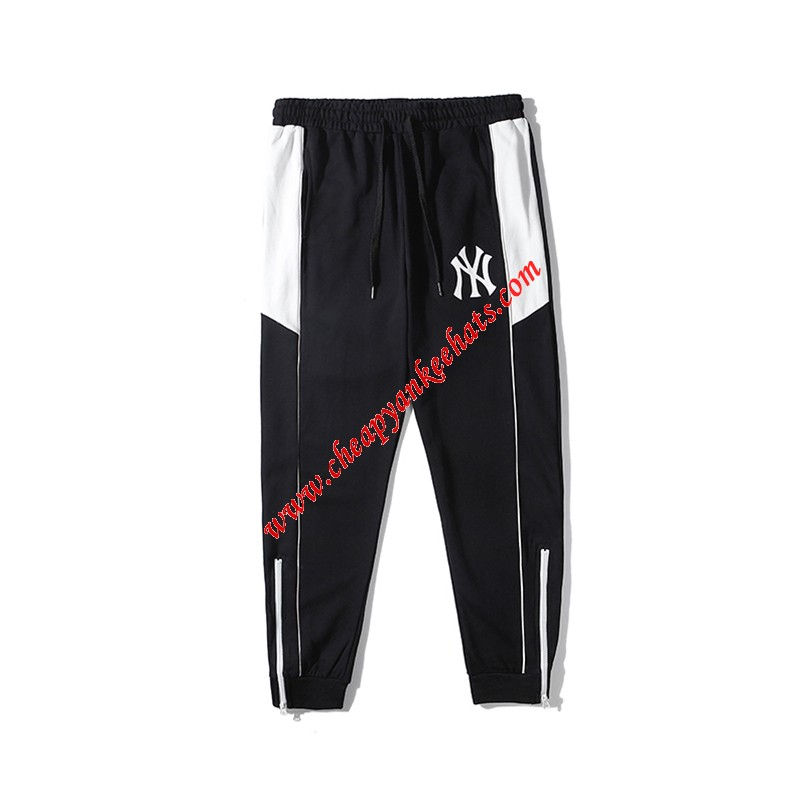 MLB NY Patchwork Training Jogger Pants New York Yankees Black