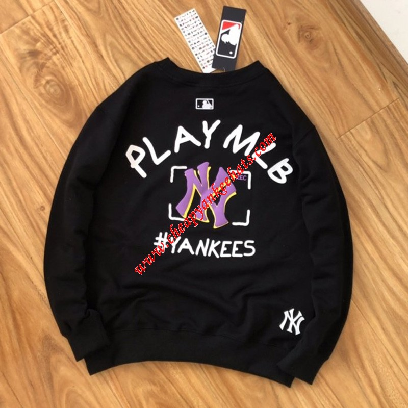 MLB NY Play MLB Sweatshirt New York Yankees Black