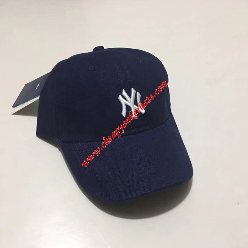 MLB NY Rookie Ball Cap New York Yankees Hat Navy Blue