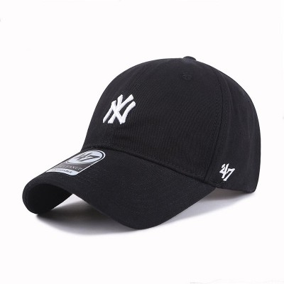 MLB NY 47 Brand Cap New York Yankees Hat Black