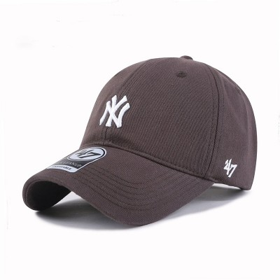 MLB NY 47 Brand Cap New York Yankees Hat Grey