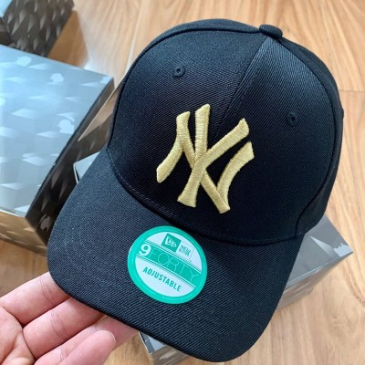 MLB NY 9Forty Adjustable Cap New York Yankees Hat Black/Gold