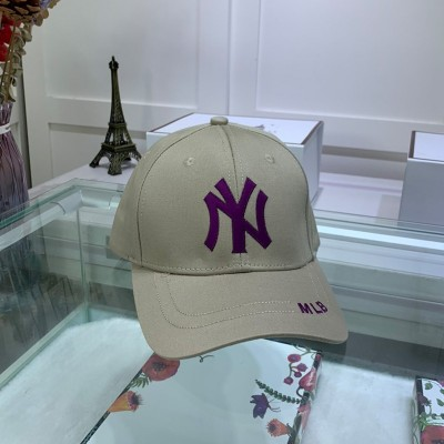 MLB NY Adjustable Cap New York Yankees Hat Grey