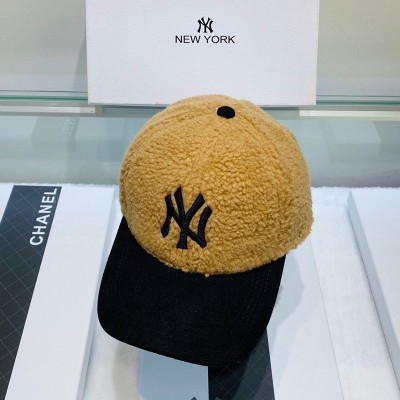 MLB NY Cashmere Ball Cap New York Yankees Hat Yellow/Black