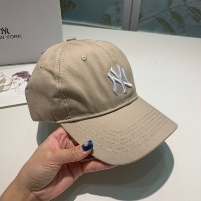MLB X Disney Ball Cap New York Yankees Hat Khaki