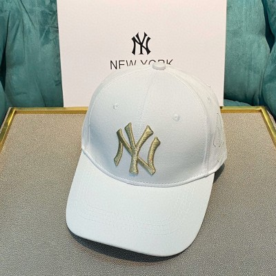 MLB NY Heroes Adjustable Cap New York Yankees Hat White