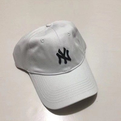 MLB NY Rookie Ball Cap New York Yankees Hat White