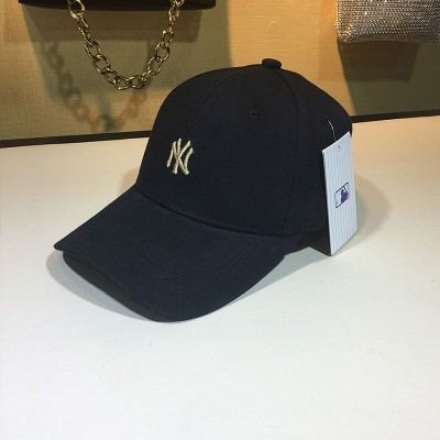 MLB NY Small Logo Ball Cap New York Yankees Hat Black
