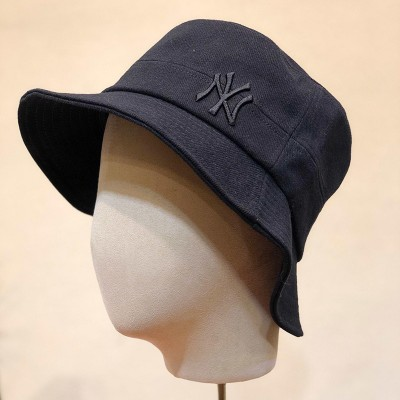 MLB NY Small Shadow Bucket Hat New York Yankees Hat Black